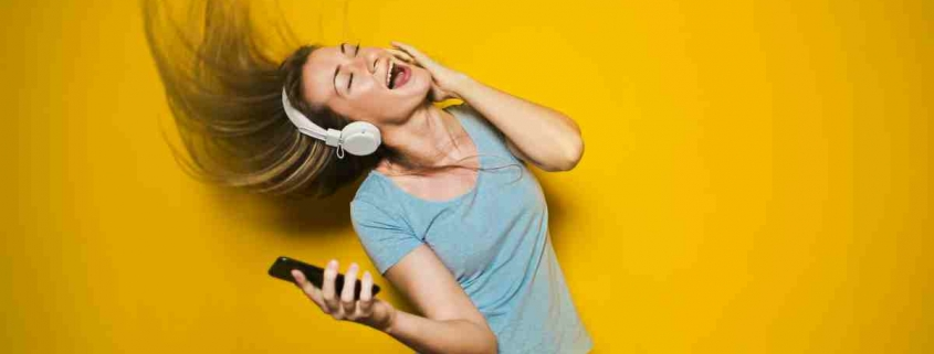 Zingend meisje - Het Zanglab